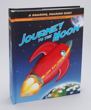 Journey to the Moon Pop-Up Hardcover