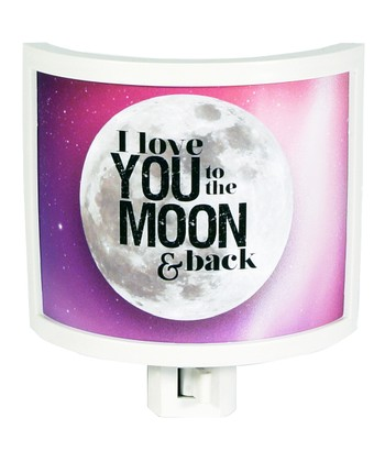'To The Moon' Night-Light