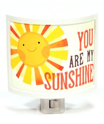 'You Are My Sunshine' Night-Light
