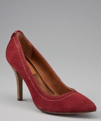 Berry Maiya Suede Pump