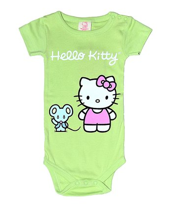 Apple Hello Kitty Organic Bodysuit - Infant