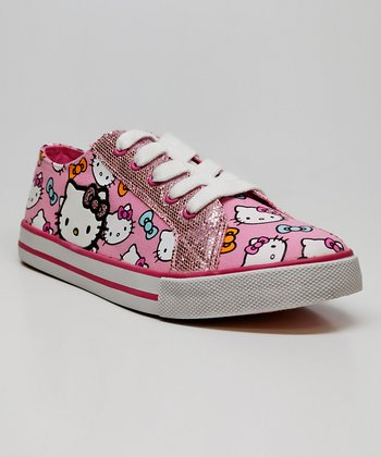 Pink Hello Kitty Aimee Sneaker