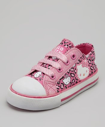 Pink Hello Kitty Leslie Sneaker