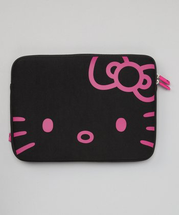 Black & Pink Hello Kitty 13'' Laptop Case