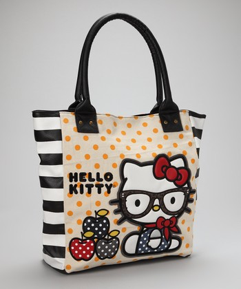 Tan Hello Kitty Preppy Tote