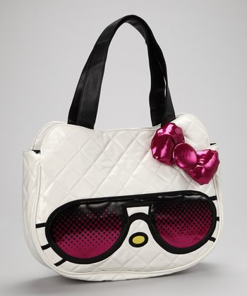 White Hello Kitty Sunglasses Tote