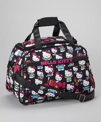 Black Hello Kitty Travel Bag