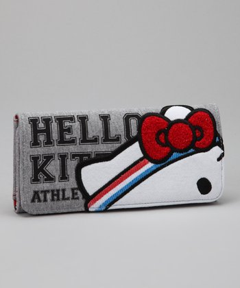 Gray Hello Kitty Gym Wallet