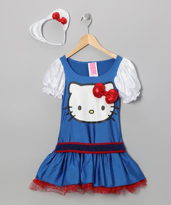 Blue Hello Kitty Dress-Up Outfit - Girls