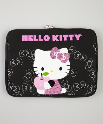 Hello Kitty Black Laptop Sleeve