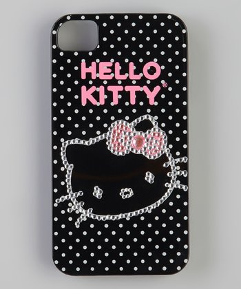 Hello Kitty Black Rhinestone Case for iPhone 4/4S