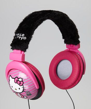 Hello Kitty Foldable Headphones