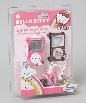 Light Pink Hello Kitty Digital MP3 Player