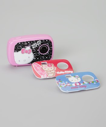 Hello Kitty Digital Camera & Faceplate Set