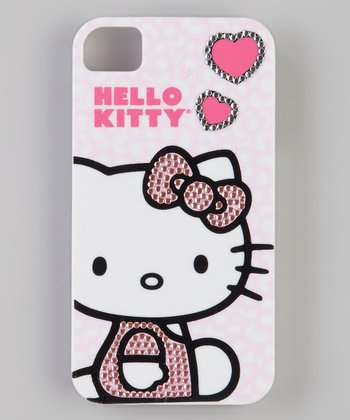 Hello Kitty Rhinestone Case for iPhone 4/4S
