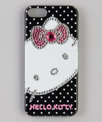 Hello Kitty Black Rhinestone Case for iPhone 5