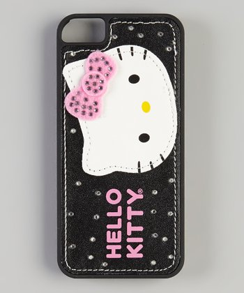 Black Bling Hello Kitty Case for iPhone 5