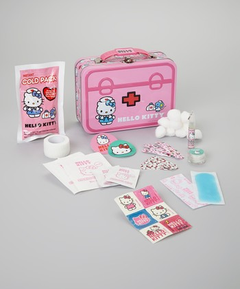 Hello Kitty Tin First Aid Set