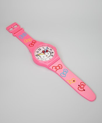 Hello Kitty Watch Wall Clock