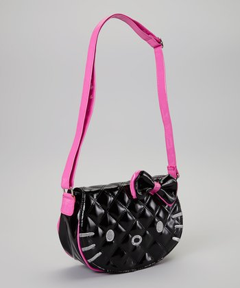 Hello Kitty Black Patent Bag