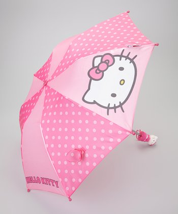 Hello Kitty Retractable Umbrella