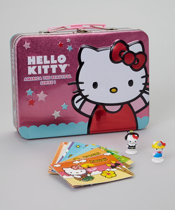 Hello Kitty America Tin Set