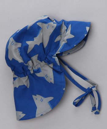 Blue Shark Desert Hat