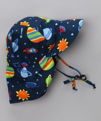 Navy Space Desert Hat