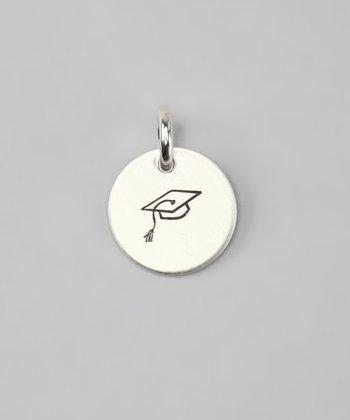 Five Little Birds Jewelry Sterling Silver Graduation Cap Charm