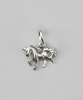 Sterling Silver Small Unicorn Charm