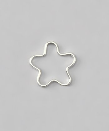 Sterling Silver Flower Slide-On Charm