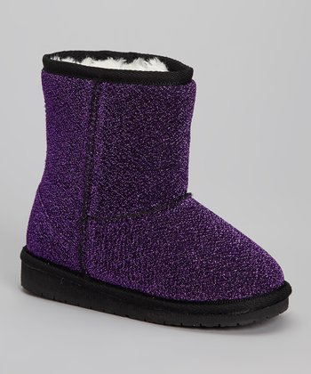 Purple Frost Boot