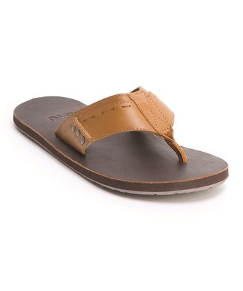 Tan Leather Kempsey Sandal - Men