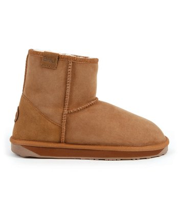 Chestnut Suede Stinger Mini Boot - Women