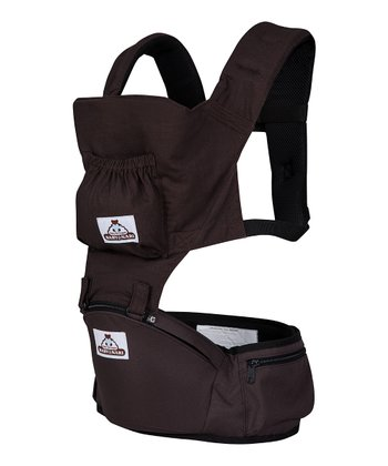 Chocolate Brown Baby Hip Hugger Eco & Baby Hip Hugger Eco Plus
