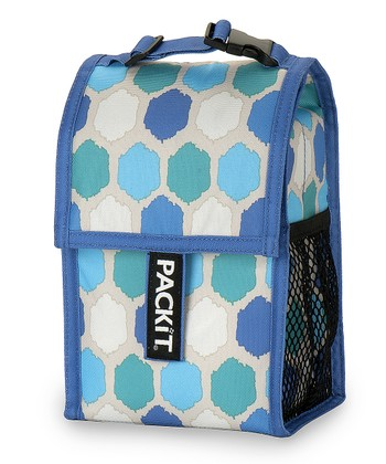 Blue Dots Baby Bottle Cooler