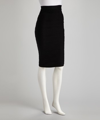 Black Bandage Pencil Skirt - Women