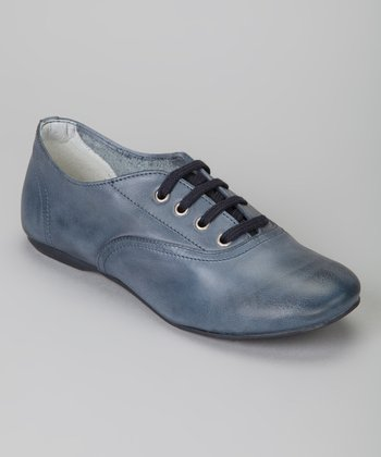 Blue Esmeralda Shoe