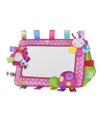 Pink Tag 'N' Smile Mirror