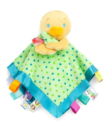 Green Duck Soothe Me Security Blanket