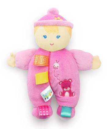 Pink Cozy Cutie Baby Plush Toy
