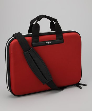 Red Slim Laptop Case