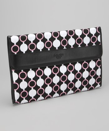 Pink Mod Circles Kailo Chic 15.6'' Laptop Sleeve