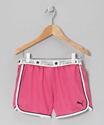 Raspberry Rose Core Shorts - Toddler