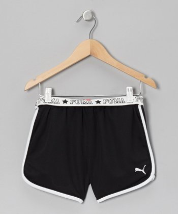 Black Core Shorts - Toddler & Girls