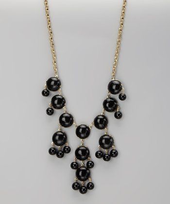 Black Bubble Necklace