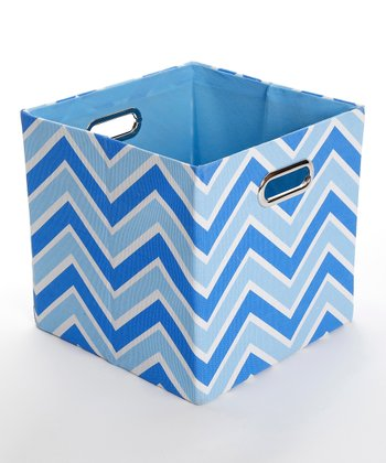 Sky Zigzag Folding Storage Bin