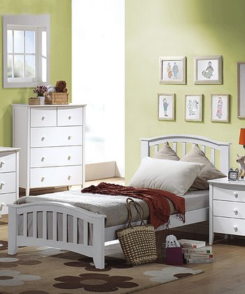 Espresso & White Tatum Twin Bed