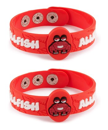 Shellfish Health Alert Bracelet - Set of Two