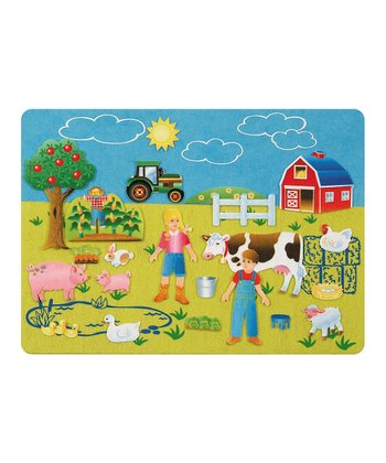 Let's Go to the Farm Felt Tale Set